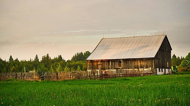 The Old Barn by Bryan Smith