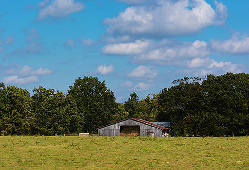 The Old Barn by Dennis Reagan