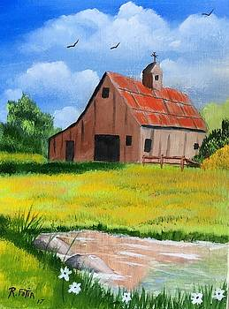 The Old Barn by Rich Fotia