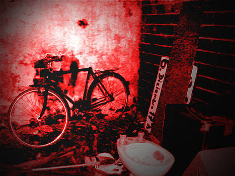 The Old Bike by Ingrid Dance