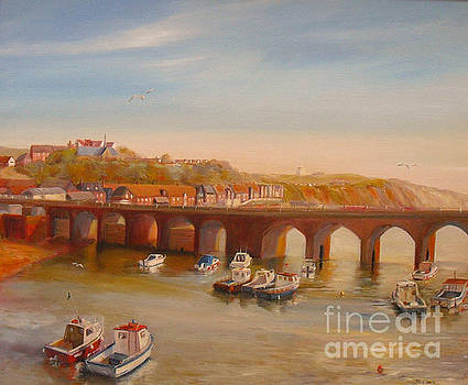 Beatrice Cloake - The Old bridge - Folkestone harbour