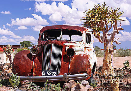 The old car, Namibia by Wibke W