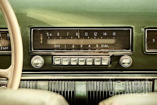 The old Car Radio by Martin Bergsma