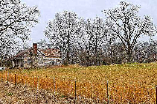 The Old Country Home by Ron Dubin