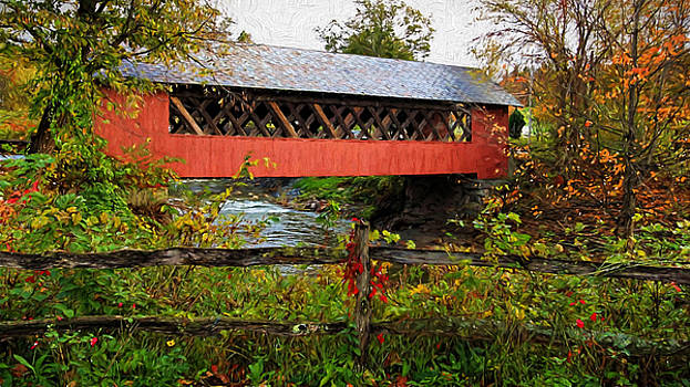 Susan Rissi Tregoning - The Old Creamery Covered Bridge