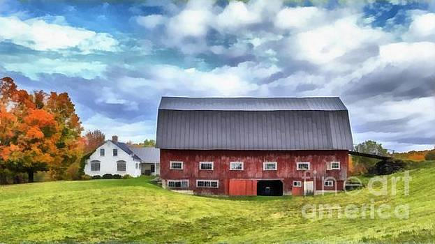 Edward Fielding - The Old Dairy Barn Etna New Hampshire