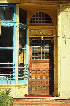 The Old Door At Port Costa by Joyce Dickens