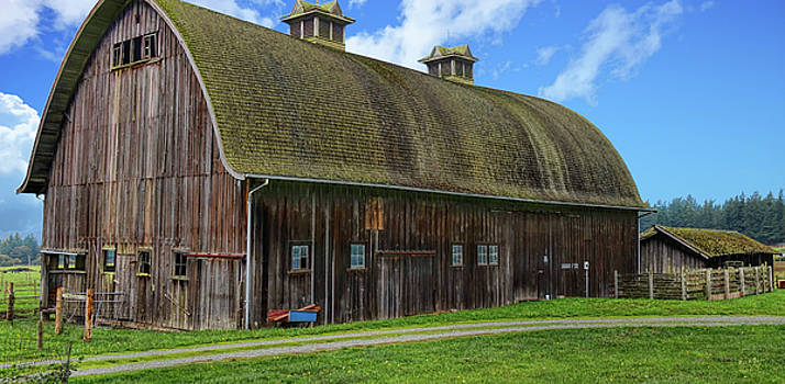 The Old Dutch Barn by Rick Lawler