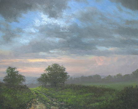 The Old Farm Road by Stephen Howell