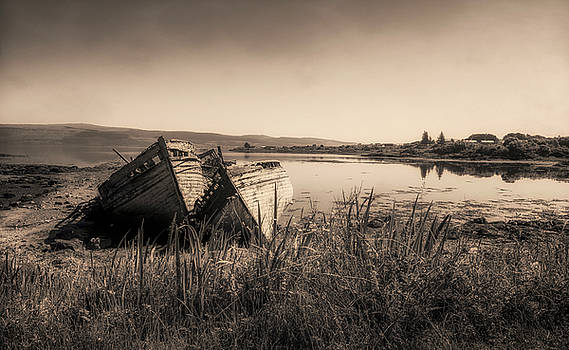 The Old Fishing Boats by Roy McPeak
