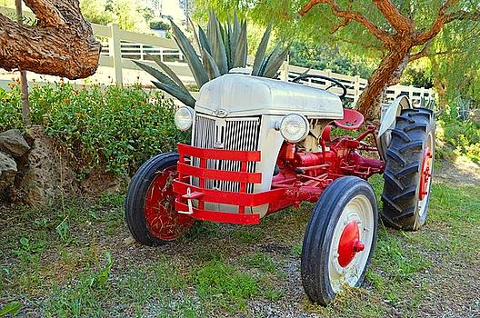 The Old Ford Tractor 3 by Tommi Trudeau