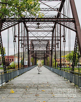 The Old Fort Benton Bridge by Kassie Nelson