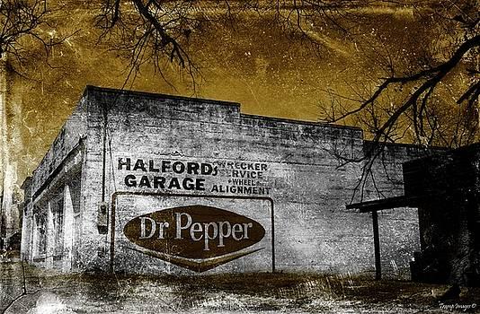 The Old Garage  by Wesley Nesbitt