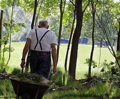 The Old Gardener by Nigel Follett