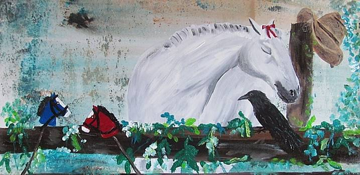 The Old Grey Mare by Susan Snow Voidets