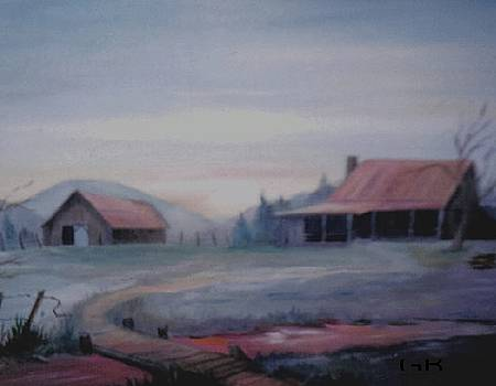 The Old Homestead by Glenda Barrett