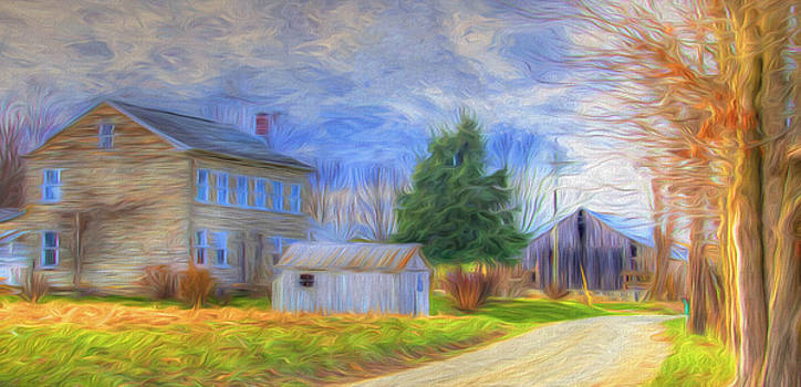 The Old Homestead by Laura Greene