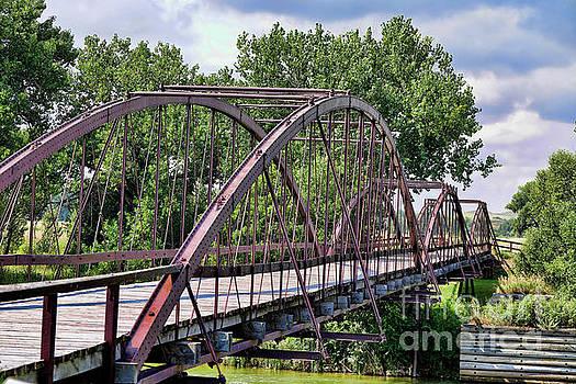 The Old Iron Army Bridge by Stephen Schwiesow
