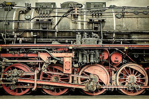 The old Locomotive by Martin Bergsma