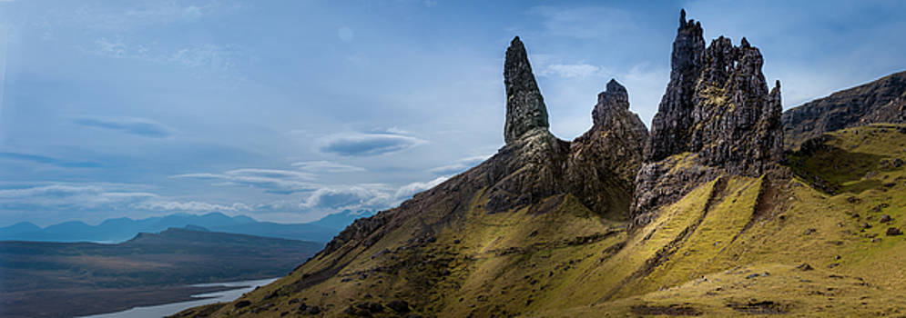 The Old Man of Storr Isle of Skye by Alex Saunders