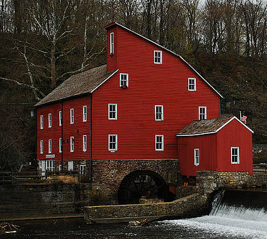 The Old Mill in Clinton NJ by Lori Tambakis