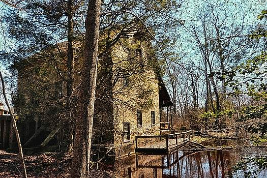 The Old Mill In The Countryside by Lanis Rossi