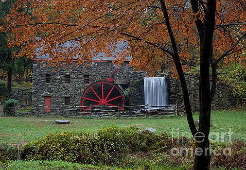 The Old Mill New England  by April Bielefeldt