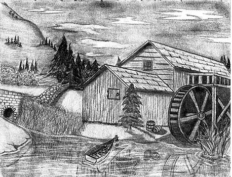 The Old Mill by Wendy Keely