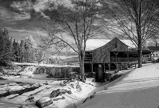 The Old Mill - Weston, Vermont by Gordon Ripley