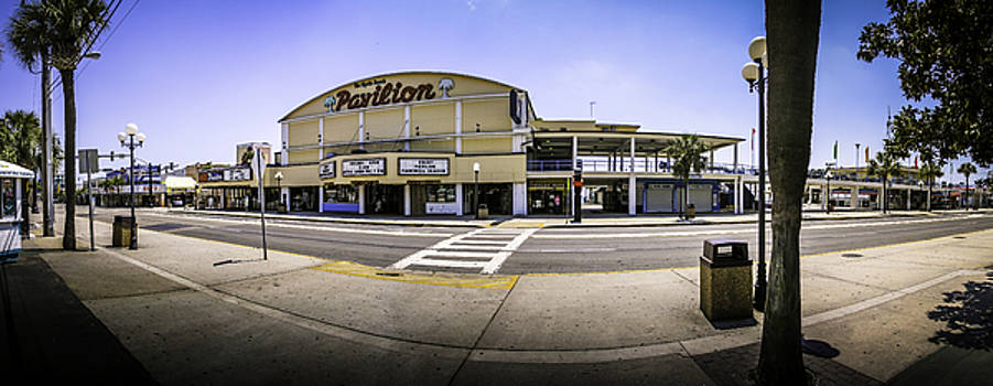 The Old Myrtle Beach Pavilion by David Smith