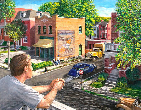 The Old Neighborhood by Edward Farber