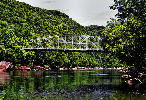 The Old New River Gorge Bridge 001 by George Bostian