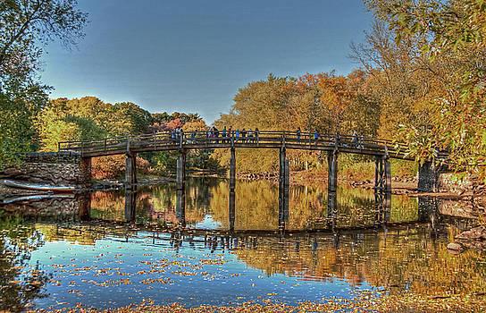 The Old North Bridge by Wayne Marshall Chase