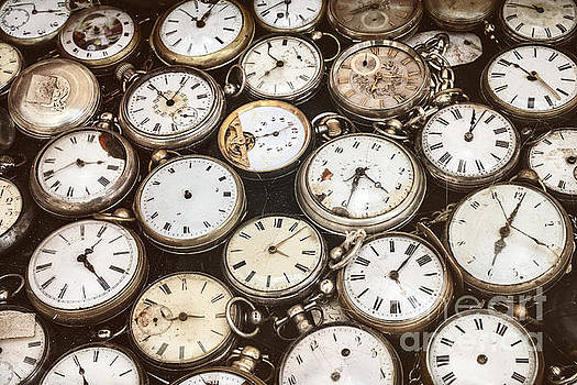 The old pocket watches by Martin Bergsma