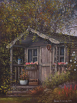 The Old Potting Shed by Sean Conlon