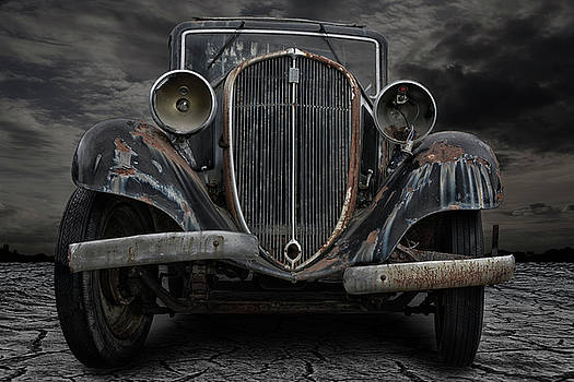 The Old Rusty Limousine by Joachim G Pinkawa