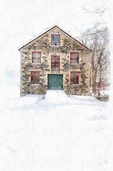 Edward Fielding - The Old Stone Barn Enfield New Hampshire
