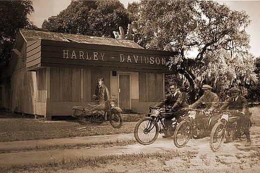 The Old Stuart Harley Shop by Richard Nickson