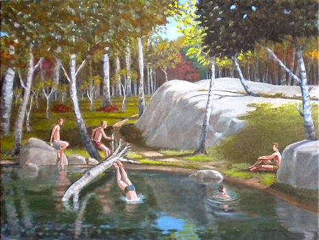The Old Swimming Hole by Christopher Roe