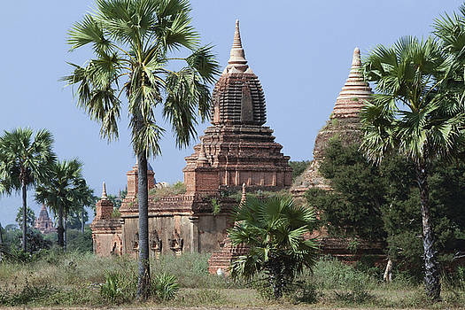 The old temples of Bagan by Kamala Saraswathi