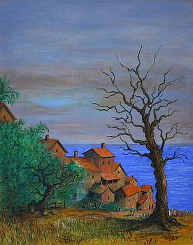 The Old Tree by the Sea by William Bezik