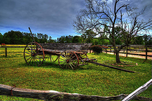 The Old Wagon by TJ Baccari