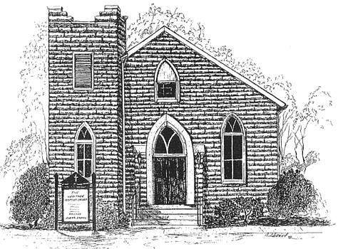 The Old Weslyan Church  by Barney Hedrick