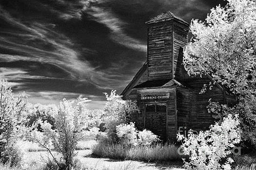 The Old Wood Church  by Jeff Holbrook