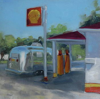 The Oldest Gas Station on Route 66 by Elizabeth Jose