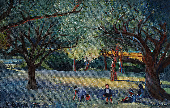 The Olive Pickers by Kerry Burch