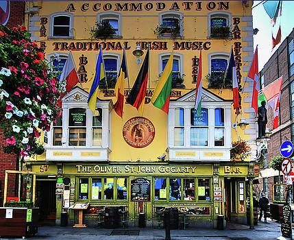The Oliver St John Goarty bar Dublin by Tom Prendergast