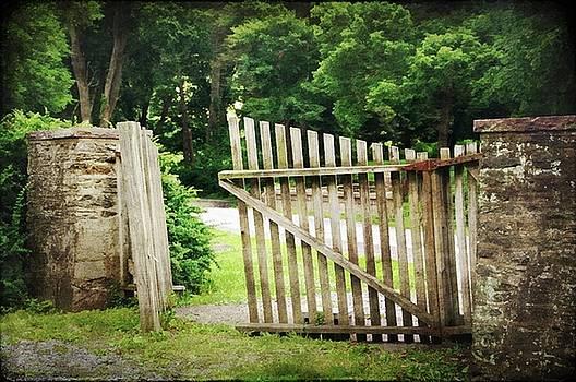 The Open Gate by Stephanie Calhoun