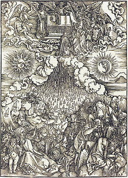Albrecht Durer - The Opening of the Fifth and Sixth Seals