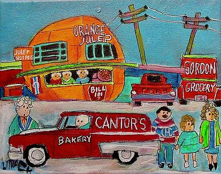 The Orange Julep and Cantor's Ford by Michael Litvack